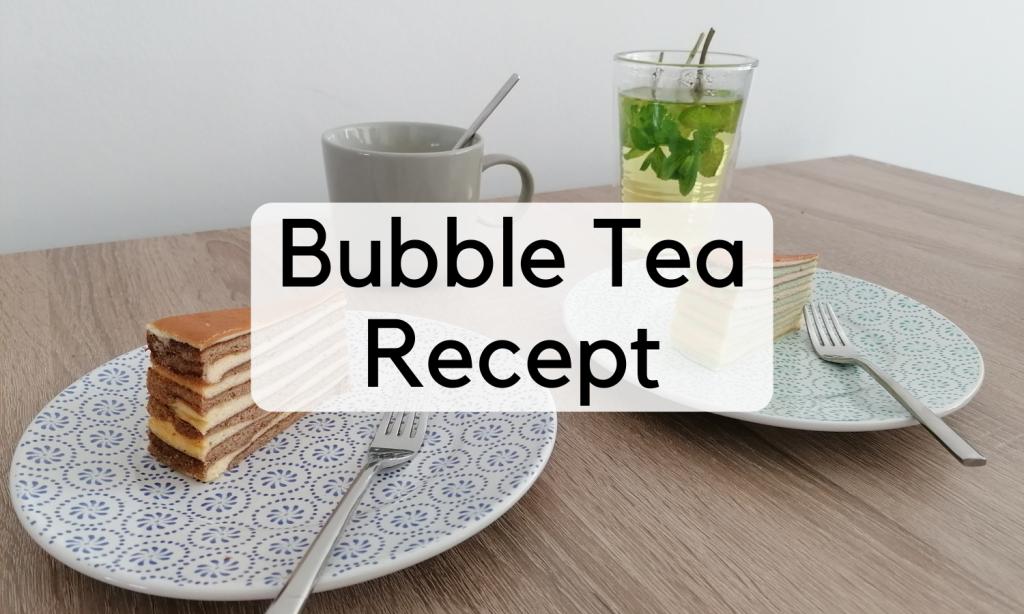 Bubble Tea Recept